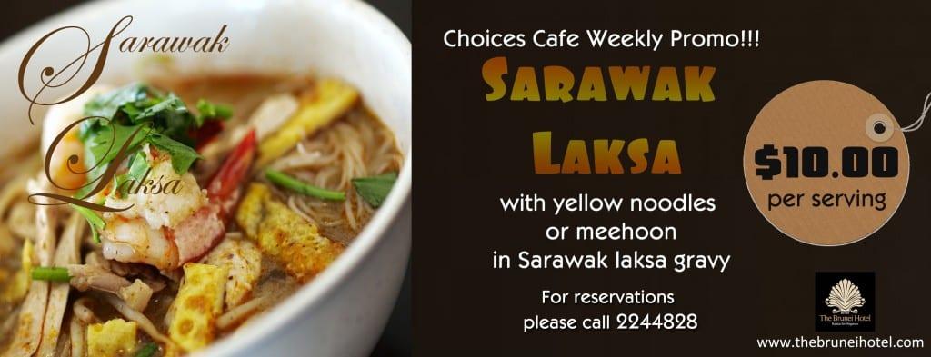 Sarawak Laksa Webpage