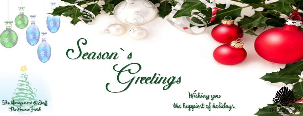 Holiday Greetings 2017